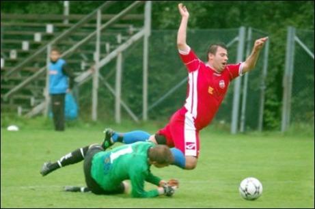 """Årets nyförvärv i lokalfotbollen - div. II-skyttekungen Alen Zulovic till Granlo BK. Bör kunna bli ett rejält fall framåt med """"Gerd Müller"""" i laget."""