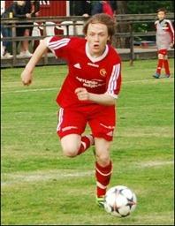 Ett mål och ett målpass blev Robin Nordins facit mot Östavall.