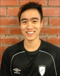 """Henry Junior Lee gjorde ett """"Zlatan-mål"""" när SBIF vann med 6-1 mot SFK 2."""