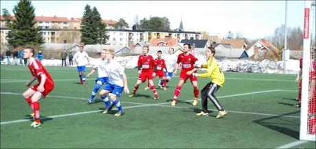 Hörna på G. Foto: Janne Pehrsson, Lokalfotbollen.nu