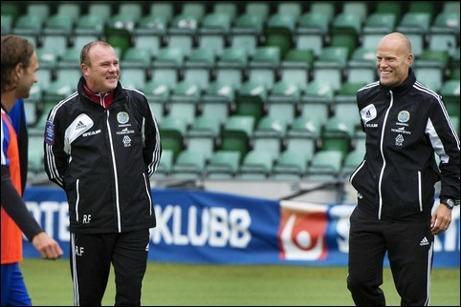Roger Franzén och Joel Cedergren leder GIF Sundsvall tillsammans för andra året i rad. Foto: Evelina Ytterbom