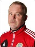 Roger Franzén, GIF-tränare även i år.