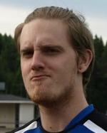 Axel Hedenström skall utmana Johan Sjöberg om målvaktshandskarna.