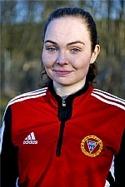 Engelina Nygren satte fyra fullträffar när Alnö passerade 100 gjorda mål för säsongen.