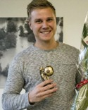 Årets tränare i Medelpad 2015. Foto: Fredrik Lindahl, ST