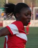 Ajara Nchout Njoya har spelat både VM och OS för sitt Kanerun.
