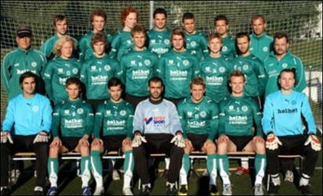 Umeålaget Mariehem SK tog hem seriesegern 2007.