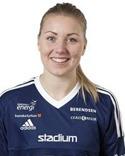 Amanda Hagelberg blev årets första målskytt för SDFF när hon kvitterade till 1-1 efter en hörna. Tyvärr räckte det inte tll poäng i premiären borta mot AIK.