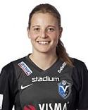 Anna Anvegård gjorde tre av Växjös fem mål mot SDFF.