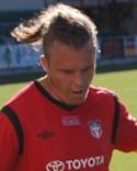 Jesper Hellström slet hårt och framgångsrikt på Essviks mittfält.