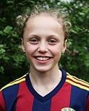 Olivia Wänglund gjorde två mål och spelade fram till det tredje.