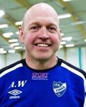 Anders Westlund tränar ett vinnande Kovland. 23 raka utan förlust nu.