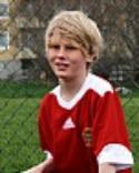 Högerbacken Oscar Molin gjorde en bra match när Alnö 2 hämtade in ett 1-3-underläge.