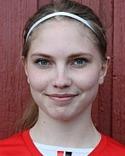 Mittfältaren Maria Häggkvist hoppade in i Söråkers mål - och höll nollan!