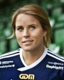 Ida Brännström gjorde två mål i sin debutnatch för Kovland.