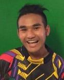 Kyaw Soe Kyaw Soe alias Kuchi West, Ljustorp ligger tvåa i skytteligan i sexan efter lagkompisen Saw En Gay.