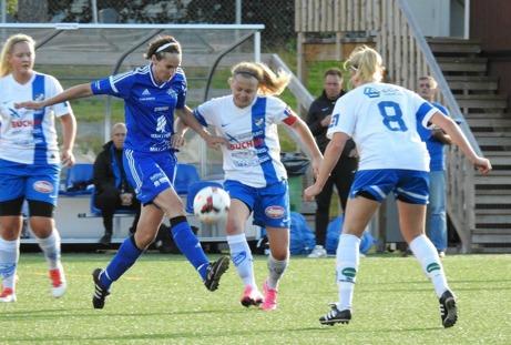 IFK Timrå vann mot kamratkollegorna IFK Åkullsjön från Västerbotten med 3-0. Foto: Fredrik Lundgren, Lokalfotbollen.nu.
