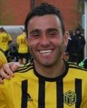 Khoger Friad gjorde två mål för Stöde mot moderklubben Kuben.