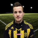 Robin Bergman blev matchhjälte för Härnösand i klykderbyt mot IFK Timrå med sina två mål.