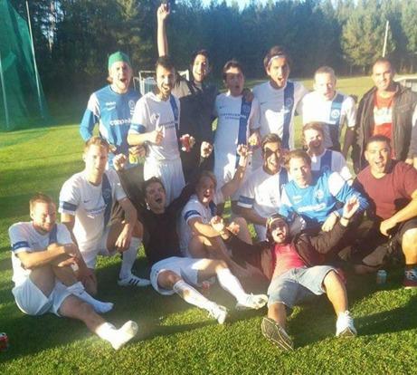 Torpshammars IF är efter segern mot Kovland klara för nästa års Medelpadsallsvenska. Foto: Torpshammars IF