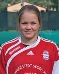 Clara Högbom satte nio mål mot Kovlansd 2 trots en hel del tid på bänken.