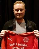 Felix Häggström har kritat på för Svartvik.