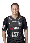 19-årige Anna Anvegård vann skytteligan.