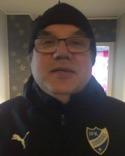 Göran Persson? Nej, Torbjörn Persson, IFK Sundsvalls nye ass. tränare från Kuben.