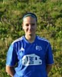 Amanda Hamrin svarade för 90 fina minuter efter övergången från Heffnersklubban.