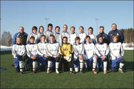 Någon lagbild på IFK Holmsunds segrande lag 2006 har inte gått att finna så vi bjuder istället på 2005 års gäng.