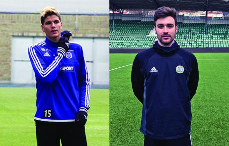 Den spanska duon David Batanero och Carlos Gracia har kritat på varsitt treårskontrakt med GIF Sundsvall. Foto: gifsundsvall.se