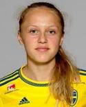 Olivia Wänglund fanns med i startelvan för tredje matchen på raken.