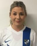 Matilda Svensson svarade fö ett av Timrås mål mot Gustafs.