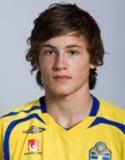 En pigg Christoffer Nerkman var en av Svartviks målskyttar.