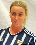 Amanda Sevefjord slet berömsvärt trots förlusten.