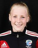 Alicia Holmberg gjorde två av målen i dagens match mot Njurunda.