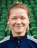 Hoppet om poäng levde när Amanda Månsson kvitterade till 1-1.