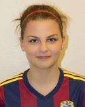 Denice Persson Feist var bästa Selånger-spelare i 2-2-matchen i Enköping.
