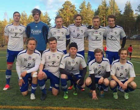 IFK Sundsvalls elva som besegrade Essvik under tisdagskvällen.