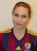 Speediga Wilma Edman stpd för Selånger 2:s båda mål mot Stensätra.