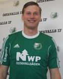 Emil Fahlander var en rese i Östavallförsvaret trots förlusten.