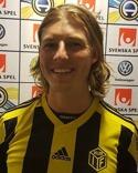 Jonathan Åhlin satte tunga 2-0-målet för Kuben med tio minuter kvar.