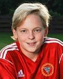 15-årige Alexander Nordin gjorde att av Alnö 2:s mål.