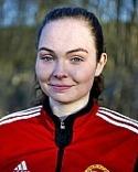 Engelina Nygren svarade för ett hattrick och bra spel på mitten.