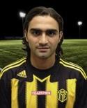 Svartgul-randigt igen för Osman Aksoy.