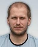 Fredrik Wiklund laddade från 45 meter och träffade sitt mål.