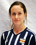 Veronica Söderström satte matchens enda mål.