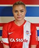 Frida Åsell var bäst på plan när Stöde vände till seger.