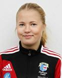 Mathilda Jonsson satte två frilägen mot Matfors men fick ändå nöjda sig med en poäng.