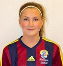 Rebecca gav Kovlands-försvaret Ågren och svarade för fyra fullträffar.